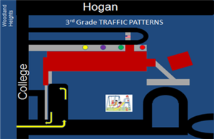 3rd grade traffic map for Jim Stone